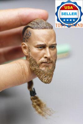 1//6 Scale Viking Captain Head Sculpt For 12/'/' PHICEN Hot Toys Male Figure ❶USA❶