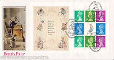 1993 Beatrix Potter Prestige Booklet (PSB) - PPS 'Silk' Set of 4 - Tom Kitten HS