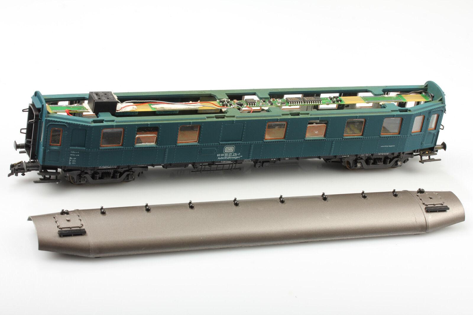 Roco H0 Aufenthaltswagen DB 60 80 99-27 274-2  Spezial  Schmutz Kratzer ohne OVP
