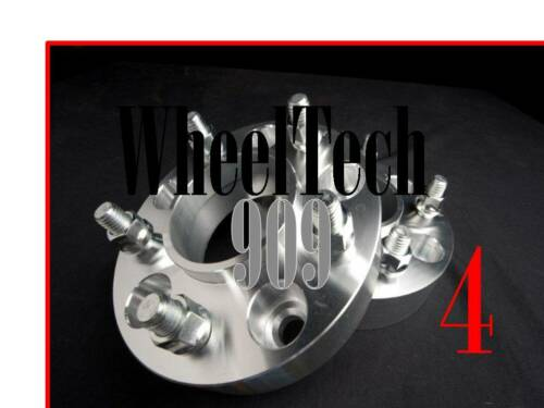 """WHEEL SPACERS ADAPTERS 5X135MM2/""""87.1 HUB CENTRIC 14MMX2 FORD LINCOLN 5L 4"""