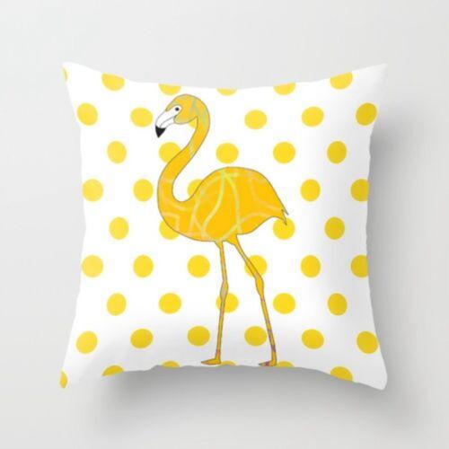 Fashion Jaune Taie D/'oreiller Canapé Voiture taille Throw Cushion Cover Home Décoration
