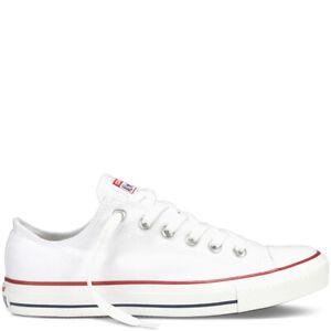 scarpe converse all star basse bianche