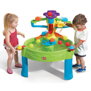 Step2-Busy-Ball-Play-Plastic-Water-Activity-Table-for-Kids-Toddlers-Children