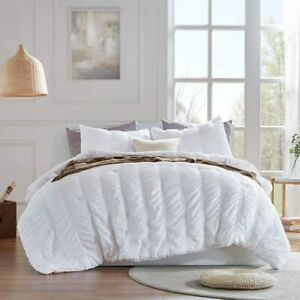 SLEEP-ZONE-All-Season-Seersucker-Comforter-Set-Luxury-Down-Alternative-Lightweig