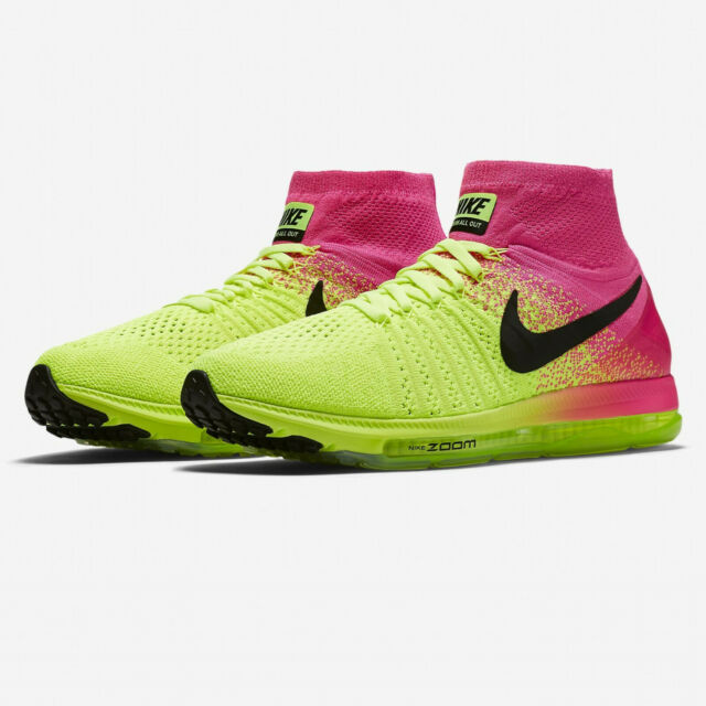newest 4aef7 05dbc Nike Mens Zoom All Out Flyknit OC Trainers Air Cushioned Shoes ALL SIZES  8-11