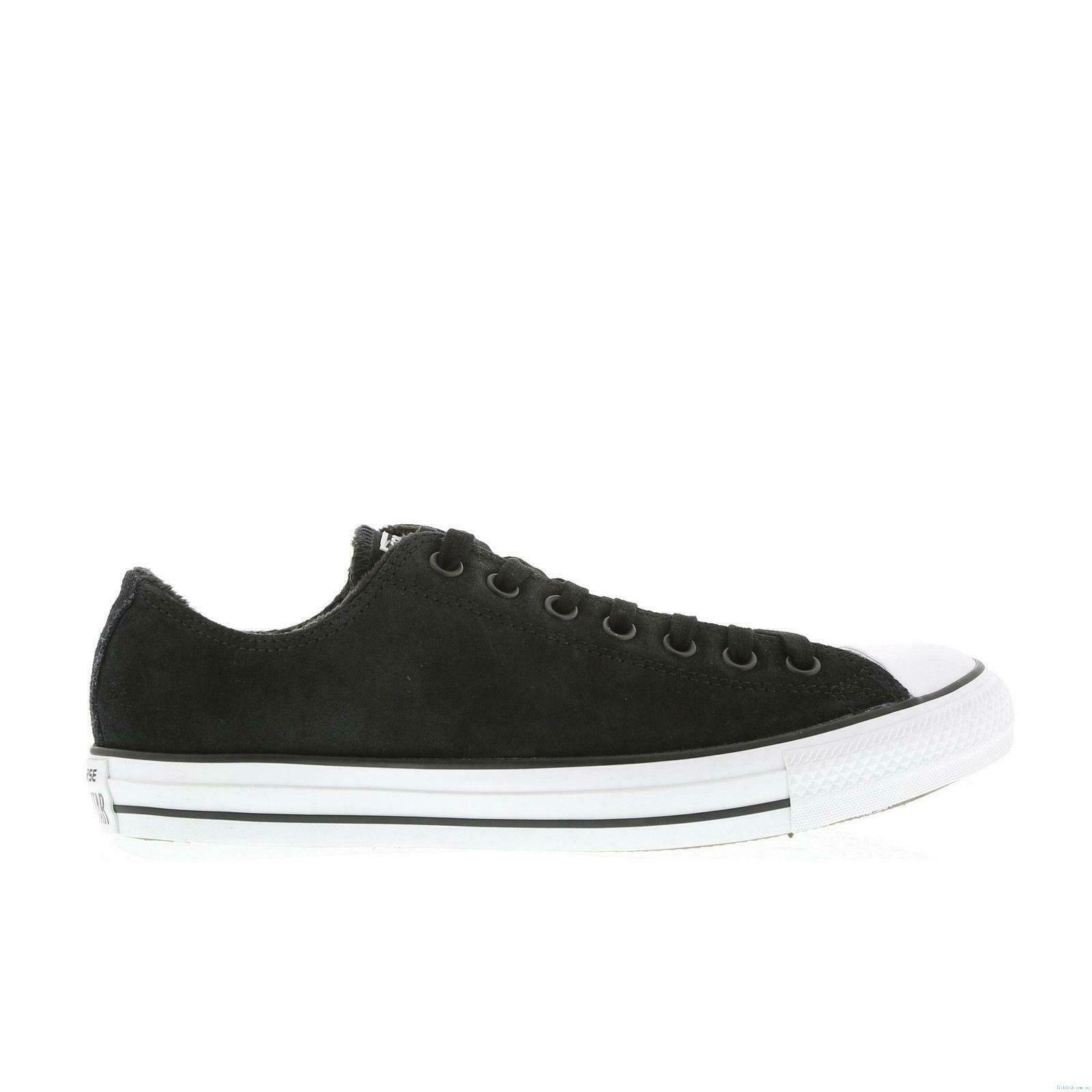 Mens CONVERSE CT OX Black Trainers 146868C