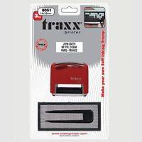 DIY rubber stamps Kit Self Inking Business Address Garage Name Etc