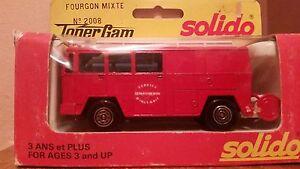 Solido-Toner-Gam-II-Fourgon-Mixte-Fire-Truck-2008-1-55-Die-cast-Metal-NIB