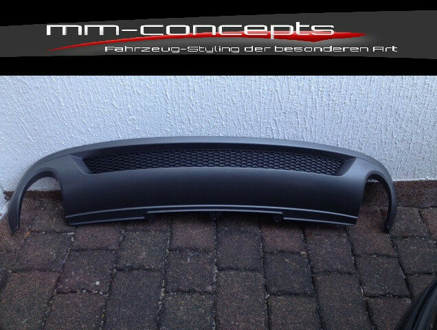 Audi A4 8K Spoiler Diffusor S-Line Heckschürze NEU B8
