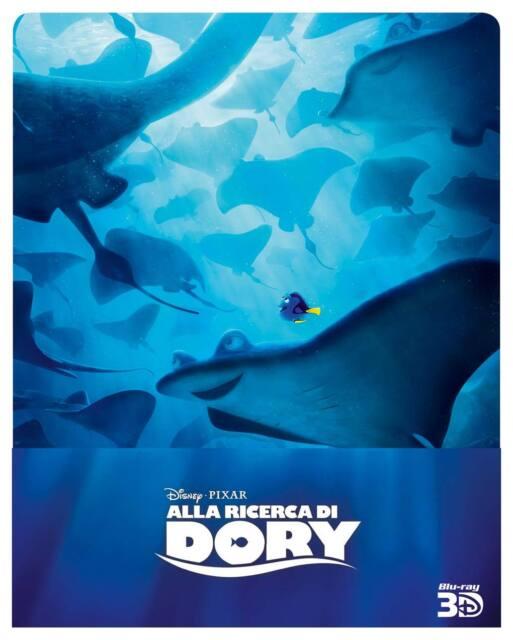 Alla Ricerca Di Dory (3D) (Limited Steelbook) (Blu-Ray 3D + 2 Blu-Ray)