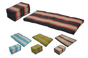 kapok thai matte matratze massage meditation faltbar liege. Black Bedroom Furniture Sets. Home Design Ideas