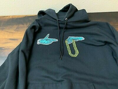 Men/'s Run The Jewels One Two Pullover Print Hoodie Hooded Black