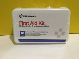 First Aid Kit For 10 Person New Seald As Pictures Exp 8/22