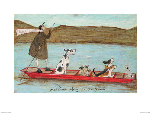 Sam Toft Print choose from wide range of different 80 x 60cm size Art Prints