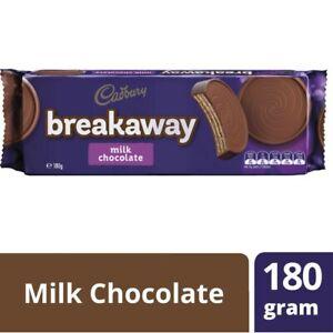 Cadbury Breakaway Milk Chocolate Biscuit 180g