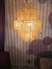 60er Mazzega Murano Kronleuchter rare 60s Mazzega Vintage chandelier Lampadario