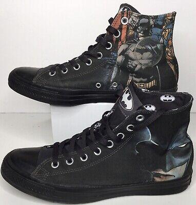 DC Comics x Converse Chuck Taylor All Star Hi Batman Rebirth Vol.1 Shoes Mens 9 | eBay