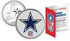 DALLAS COWBOYS * Officially Licensed * NFL TEXAS U.S. State Quarter Coin w/COA