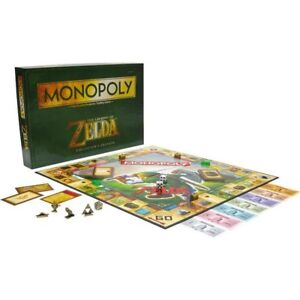 Monopoly-The-Legend-of-Zelda-Edition-English-Board-Game-Spiel-Englisch