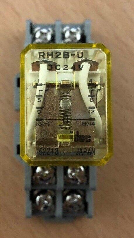IDEC Rh2b-u Dc24v Relay With Sh2b-05 94x01 Socket for sale online | eBayeBay