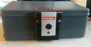SentrySafe Waterproof File Safe Fire Lock Chest Box Security Resistant Storage