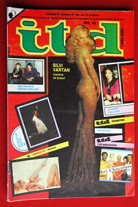 SYLVIE-VARTAN-ON-COVER-1983-RARE-EXYUGO-MAGAZINE