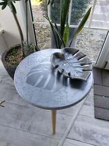 Coffee-Sofa-Table-Trefoil-Monstera-Leaf-Maori-Style-Surfing-Beach-Bar-Art-Decor