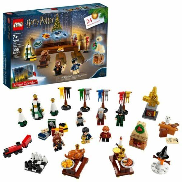 Novo 2019 Lego Harry Potter Advent Calendar 75964 Kit De Construção 305 Peças