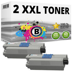 2x-XXL-TONER-SCHWARZ-fuer-OKI-C310DN-C330DN-C331DN-C510DN-C511DN-C530DN-C531DN