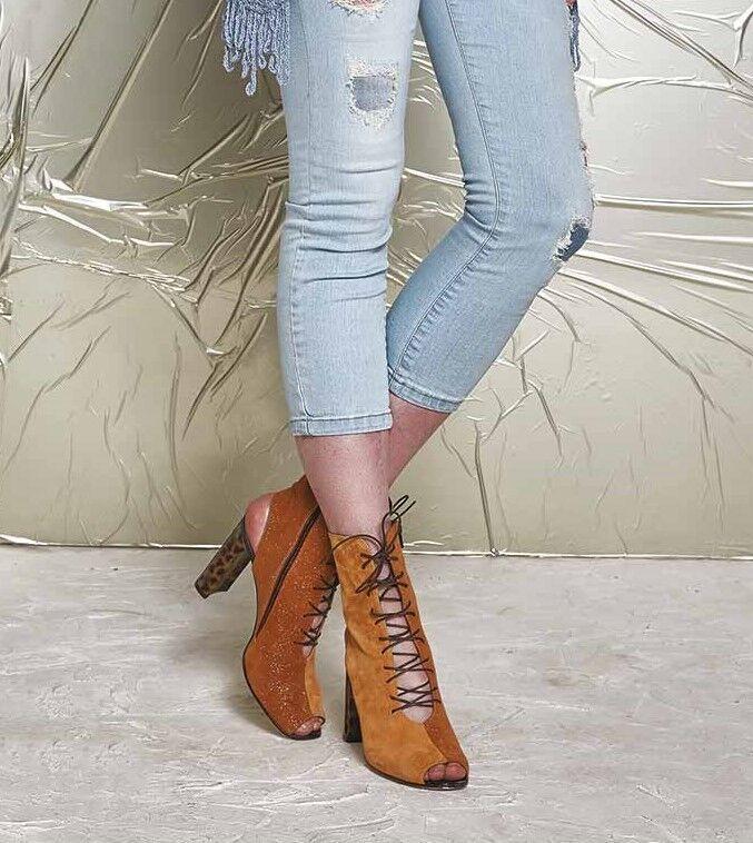 Zapatos mujer de mujer Zapatos baratos zapatos de mujer Elisa Cavaletti PEEP TOE/Pump/Shoes Cuoio * Koll. FS 2017 * 1ffa7c
