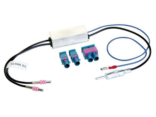 VW T5 Delta 03-09 2-DIN Autoradio Einbauset Adapter Kabel Radioblende