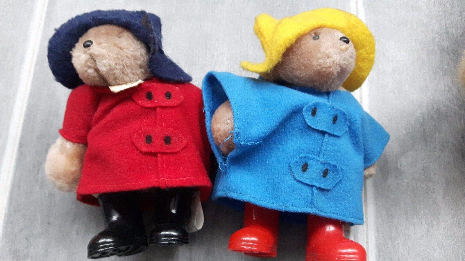 Paddington Bear Eden Toys collection rare with boots boots boots vintage 7112e7