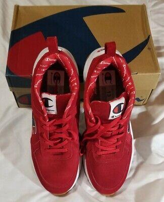 New Men/'s Classic Sneakers Shoes Champions 93 Eighteen Big C Red SZ