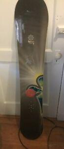 Burton-TROOP-Women-039-s-Snowboard-151cm-no-bindings-OG-Made-In-VERMONT