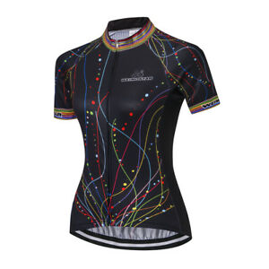 Women-039-s-Cycling-Jersey-Clothing-Bicycle-Sportswear-Short-Sleeve-Bike-Shirt-X18