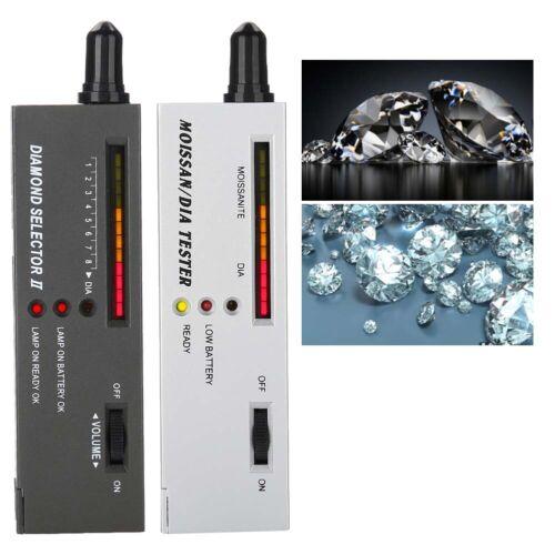 2 conjuntos de audio Joyería Diamante Gemstone Moissanita autenticación Probador Selector