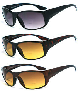 Bifocal-Vision-Reading-Glasses-Sunglasses-RG01-Various-Color-amp-Power