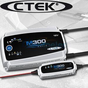 CTEK-M300-25-AMP-MARINE-BATTERY-CHARGER-PACK-DEEP-CYCLE-12V-12-VOLT-BOAT