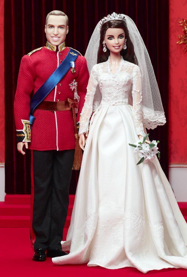 Bellissimo Willam & Catherine  Kate  Royal Wedding Ken and Barbie giftset NRFB
