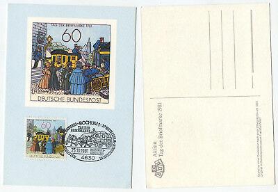 06421 - Sst: Briefmarkenausstellung Tag Der Briefmarke - Bochum 25.10.1981