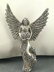 SARDA-925-Sterling-Silver-Angel-Pendant-Brooch-E1133