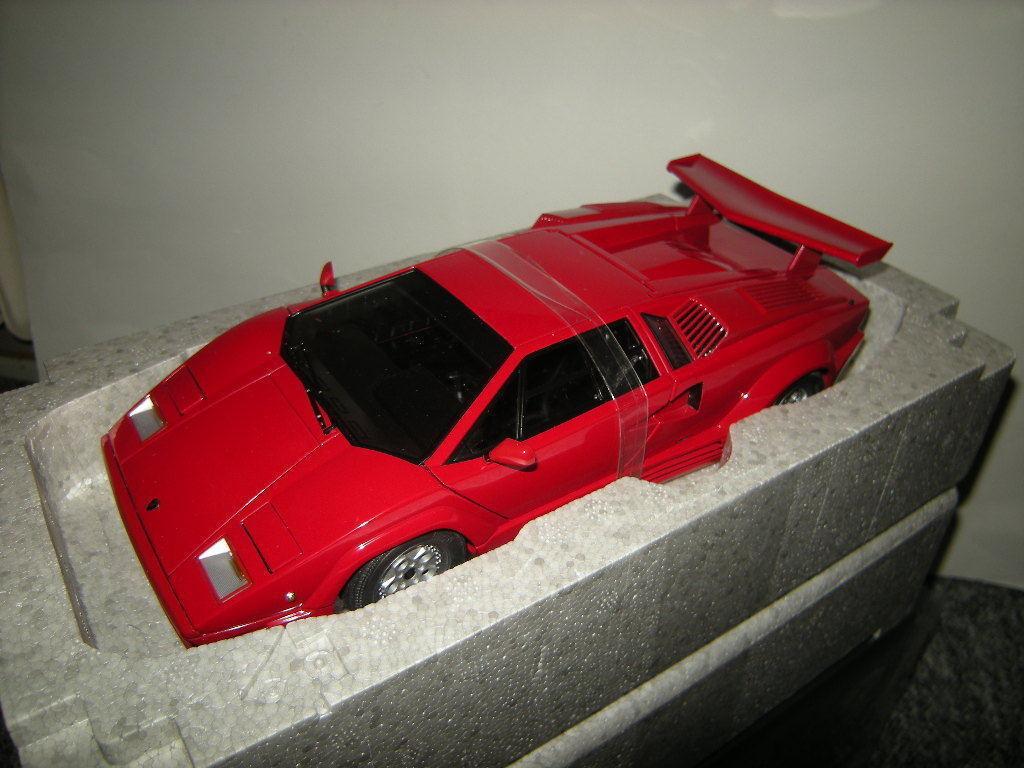 1 18 Autoart Lamborghini Countach 25th Anniversary Edition rosso rosso nº 74534 OVP