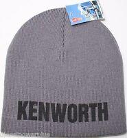 Kenworth Beanie Stocking Cap Hat Truck Toboggan Ski Embroidered Semi Warm
