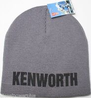 Kenworth Beanie Stocking Cap Hat Truck Toboggan Ski Embroidered Semi Warm