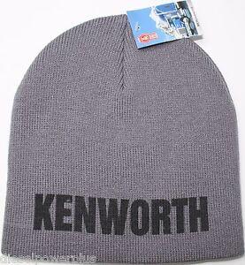 769e6c41210 Kenworth Beanie Stocking cap hat truck toboggan ski embroidered semi ...