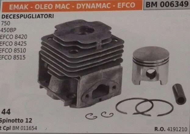 4191210 Zylinderkolben Kompl Freischneider Oleo Mac Efco 8515