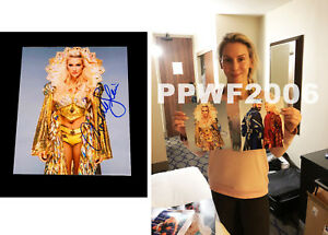 WWE-CHARLOTTE-FLAIR-HAND-SIGNED-8X10-AUTOGRAPHED-PHOTO-WITH-PIC-PROOF-amp-COA-8