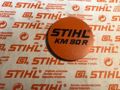 Stihl KM90r  recoil NAME TAG MODEL PLATE model tag