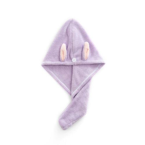 10//5x Schnell Trocknend Haarturban Badehandtuch Kopfhandtuch Wickeln Hut Wrap DE
