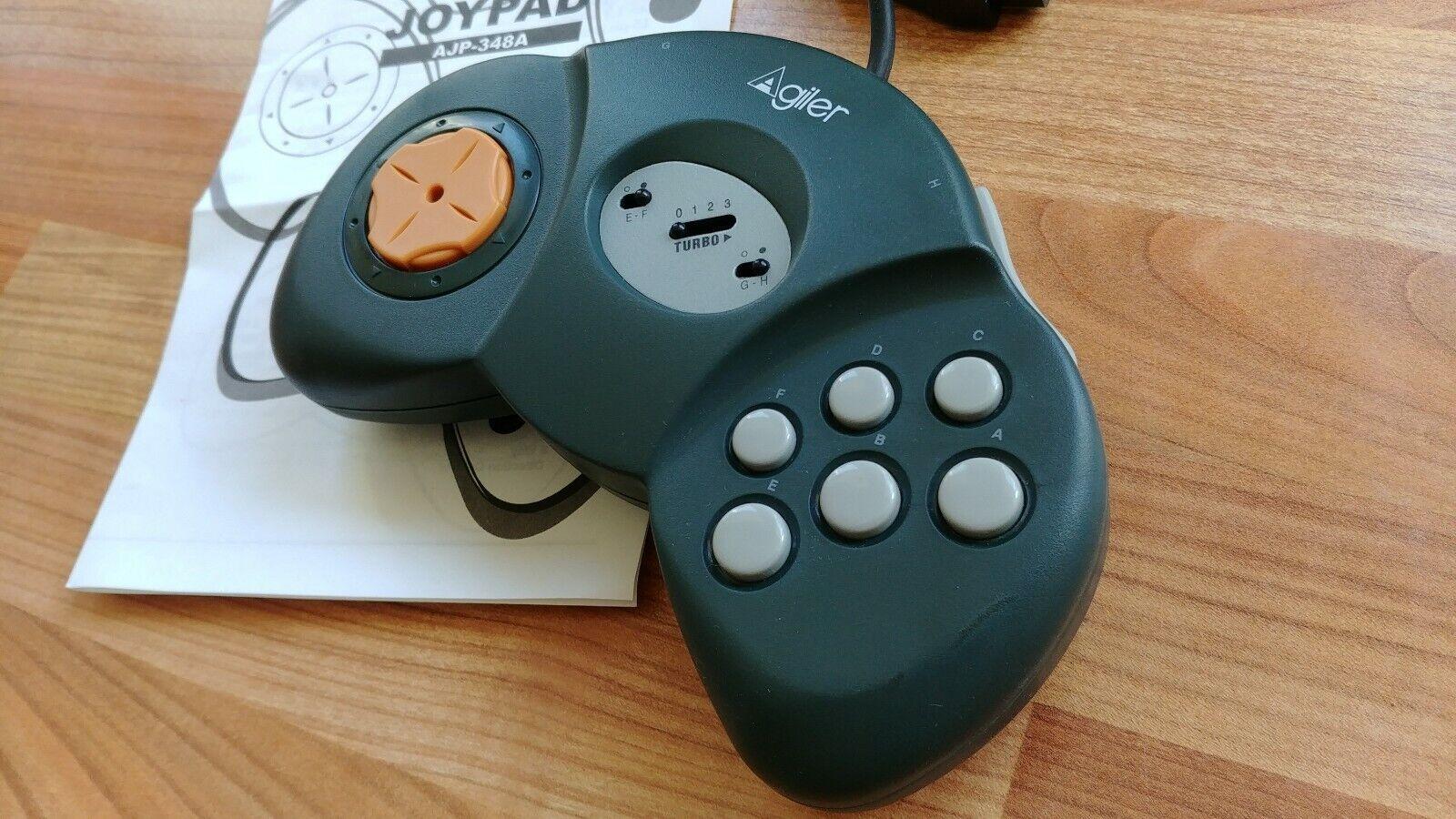 Agiler Joypad AJP-348A Controller Game Joystick - BOXED - IBM PC 15 pins